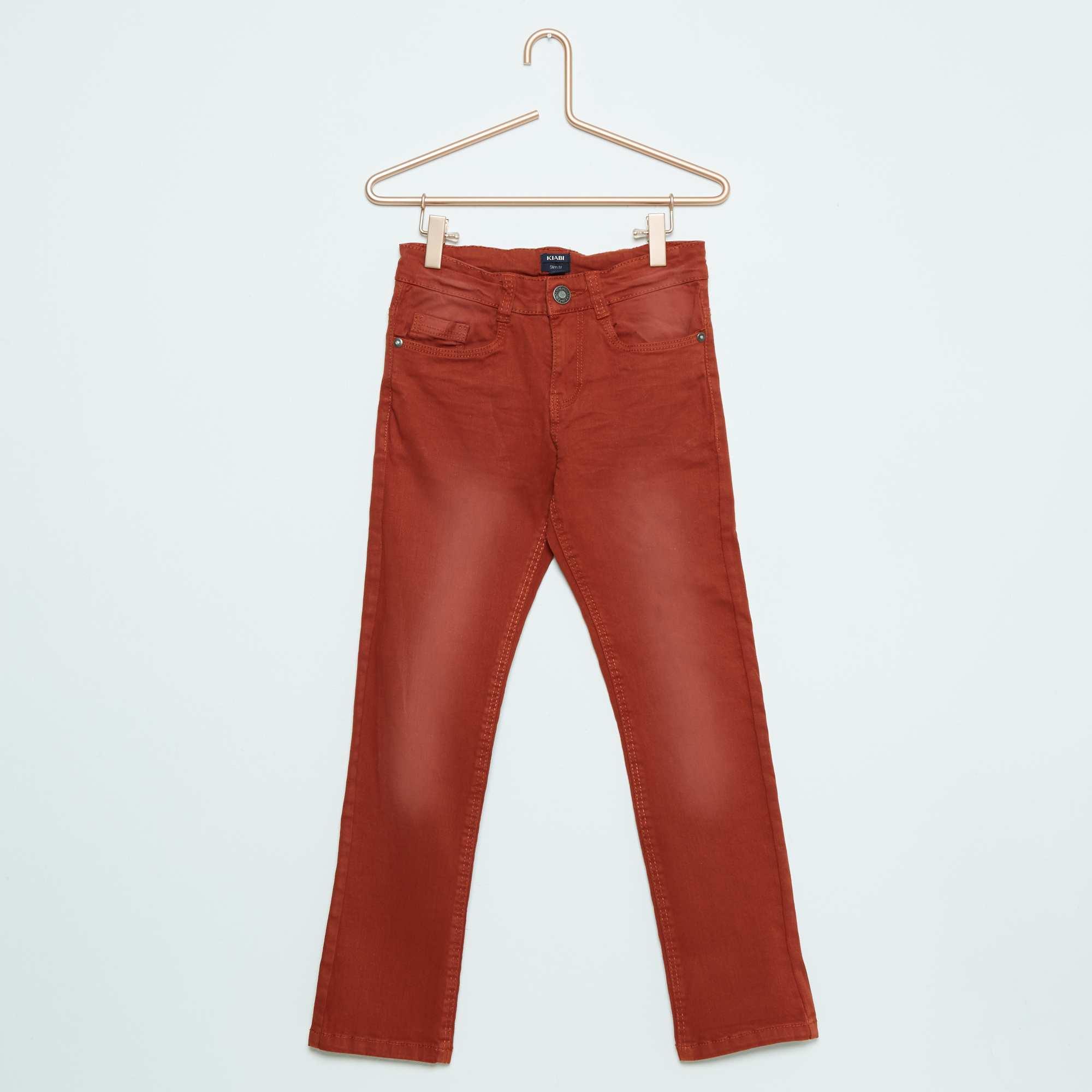 Couleur : bleu marine, gris, gris beige,gris,orange - Taille : 8A, 10A, 9A,3A,4AAvec ses coloris classiques ou tendance et sa coupe slim parfaite, voici un pantalon