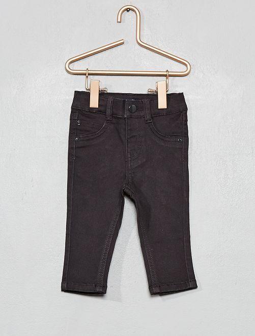 Pantalon slim                                                     gris foncé