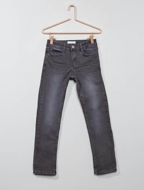 Pantalon slim                                                                                                                                                                                                                             GRIS Garçon