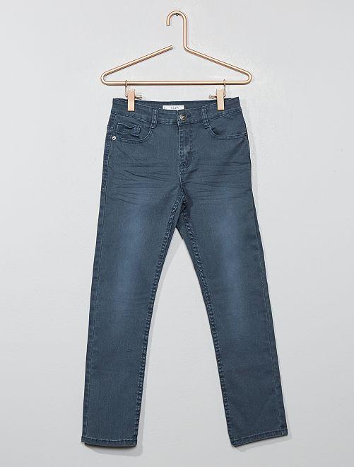 Pantalon slim                                                                                                                                                                                                                                                                                                                             gris/bleu