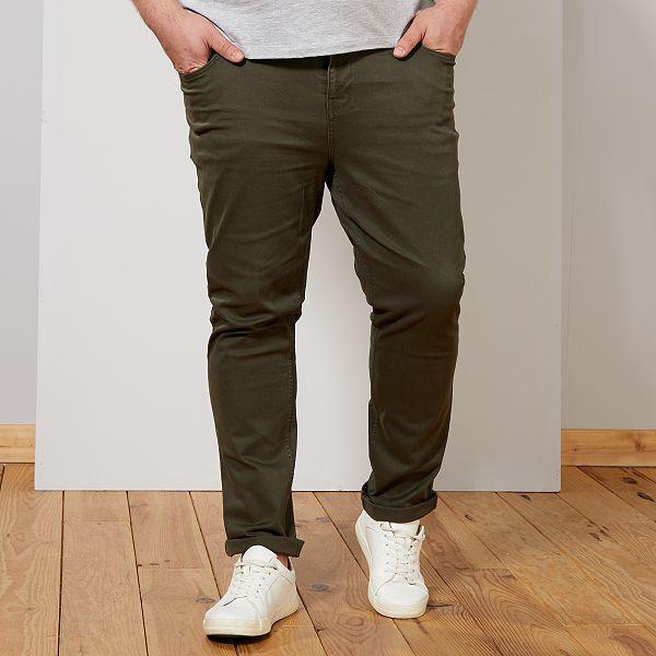 pantalon homme kaki