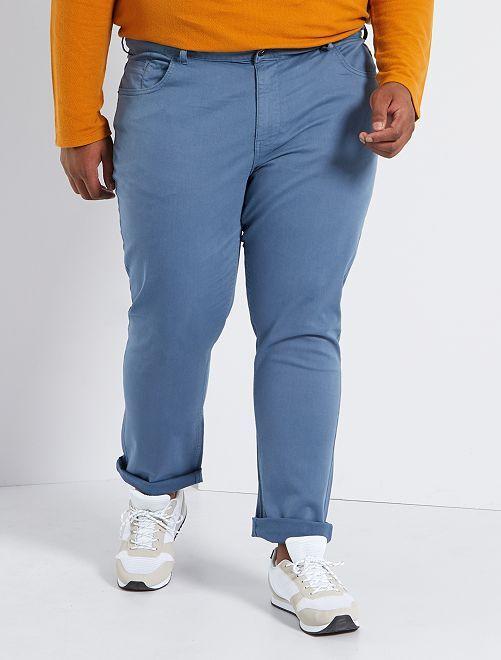 Pantalon slim L30                                                                             bleu gris