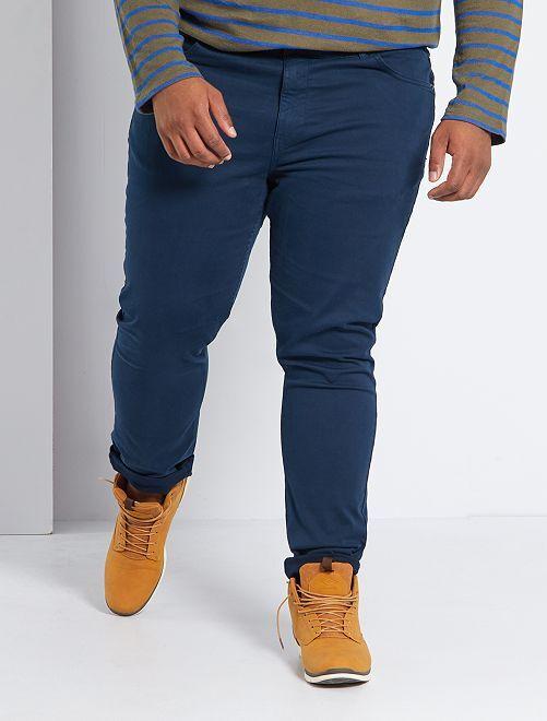 Pantalon slim L30                                                                                                     bleu marine