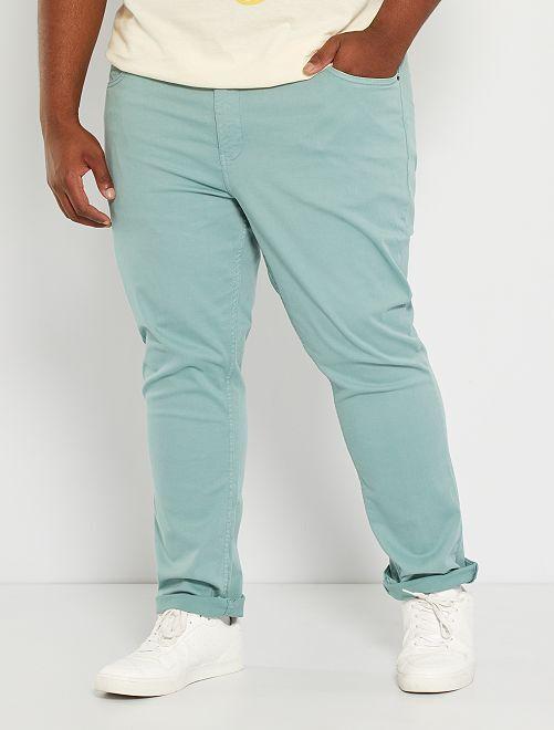Pantalon slim L30                                                                             vert pâle