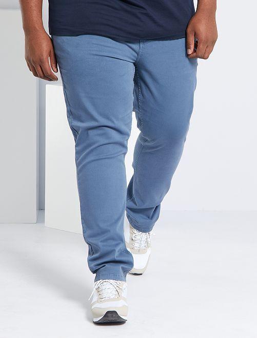 Pantalon slim L32                                                                                                                 bleu gris