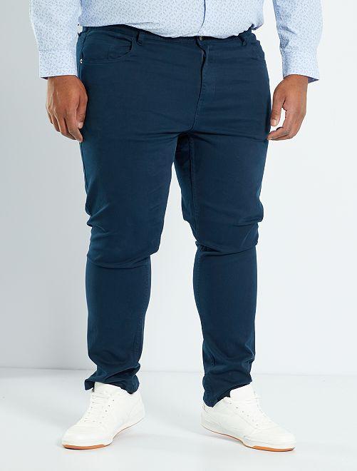 Pantalon slim L32                                                                                                         bleu marine