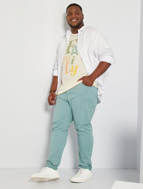 Pantalon slim L32                                                                                                                 vert pâle