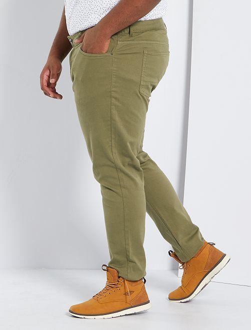 Pantalon slim L34                                                                 kaki