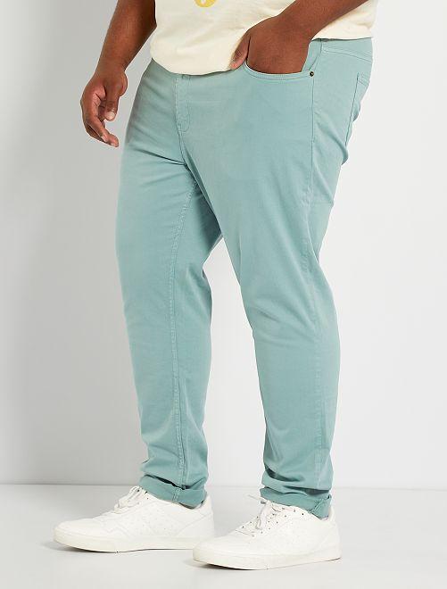 Pantalon slim L34                                                                             vert pâle