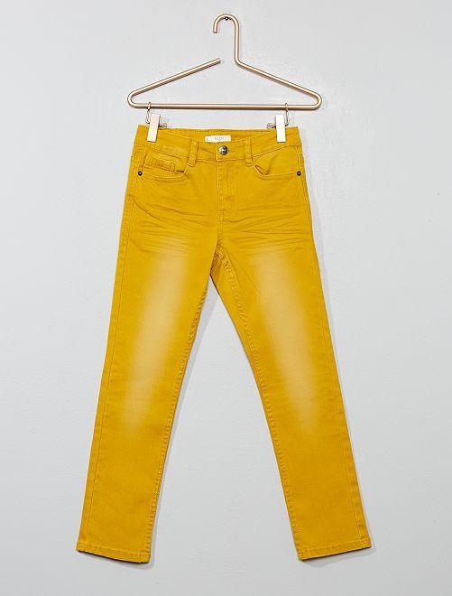 Pantalon slim                                                                                                                                                                                                                                         miel Garçon