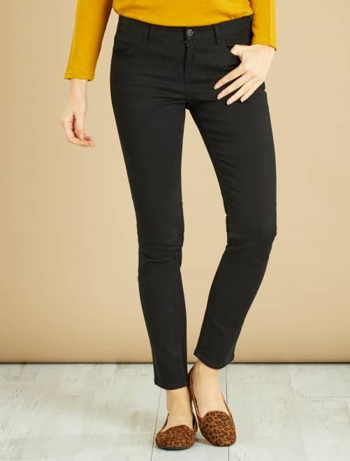 Pantalon slim                                                      noir Femme