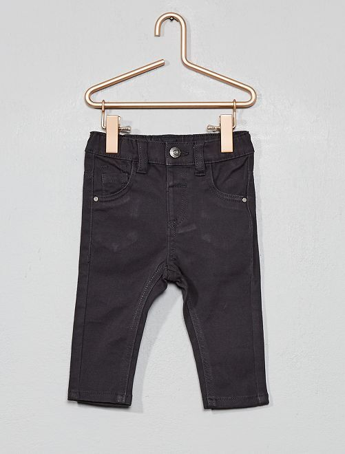 Pantalon slim stretch                                                     gris foncé Bébé garçon