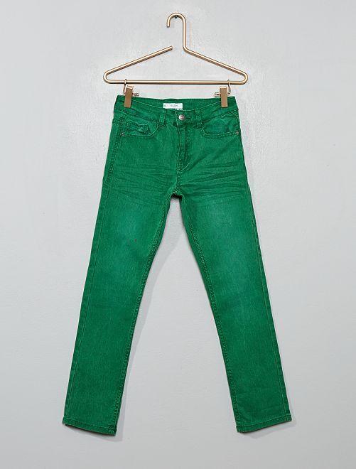 Pantalon slim                                                                                                                 vert