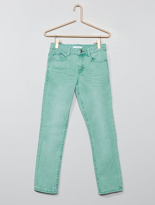 Pantalon slim                                                                                                                                                                                                                                                                                                                                         vert grisé