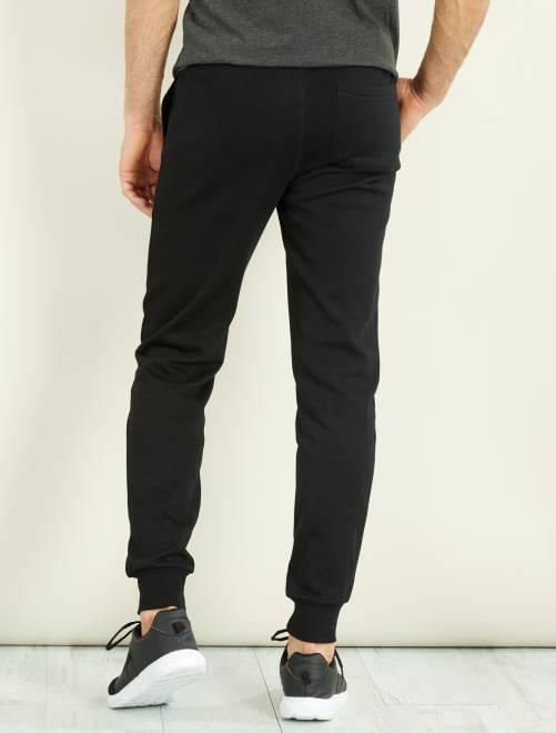 Pantalon sport en molleton Homme - noir - Kiabi - 10 2b3c2ff73e1c