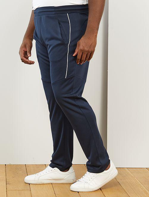 Pantalon sport esprit vintage                             bleu marine