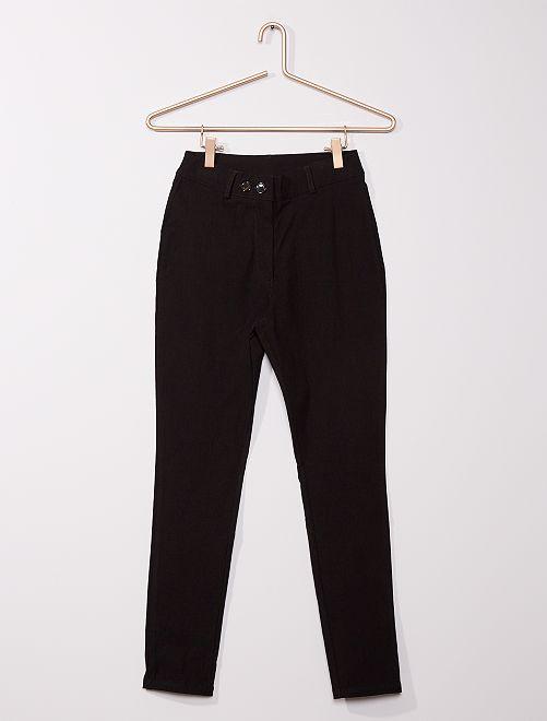 Pantalon stretch                                         noir