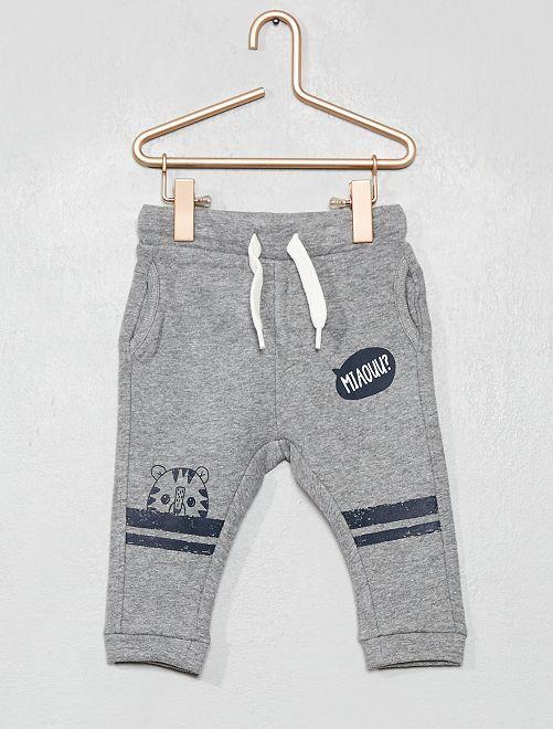Pantalon style sarouel                                                                             gris