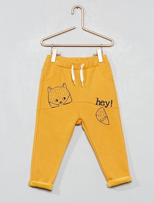 Pantalon style sarouel                                                                 jaune