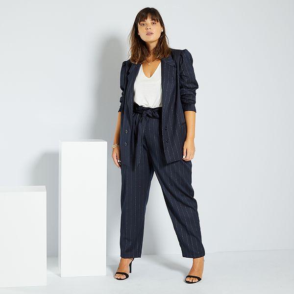 Pantalon style tailleur Grande taille femme
