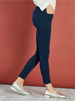 Grande taille femme Pantalon super skinny effet push-up