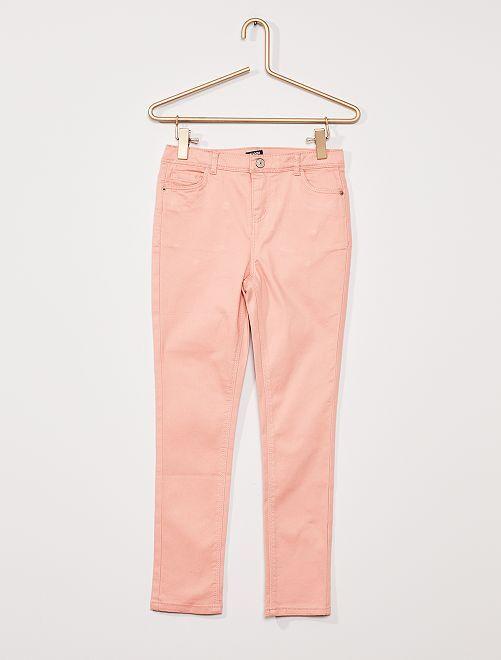 Pantalon twill Enfant rond                                                                 ROSE