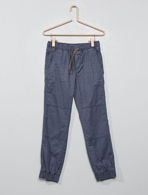 Pantalon type jogger                                                                 gris