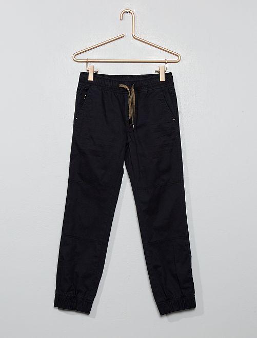 Pantalon type jogger                                                                 noir