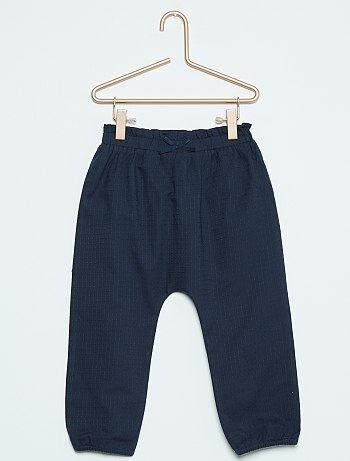 Pantalon uni esprit sarouel