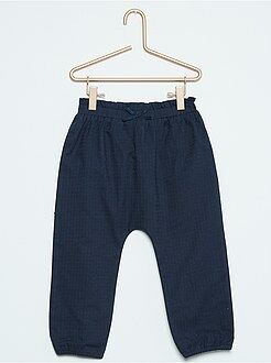 Fille 0-36 mois Pantalon uni esprit sarouel