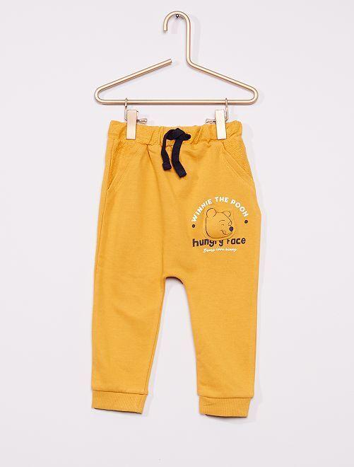 Pantalon 'Winnie' éco-conçu                             jaune