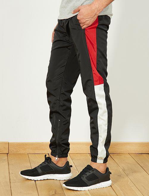 Pantalon woven vintage                                         noir Homme