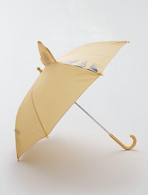Parapluie imprimé 'Tigre'                             jaune moutarde