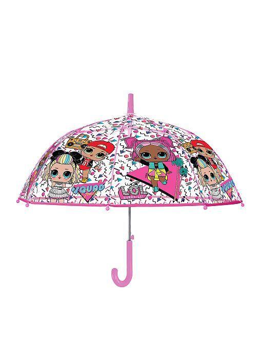 Parapluie 'Lol Surprise'                             transparent Fille