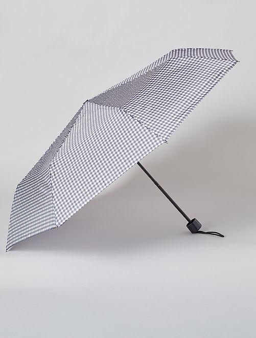 Parapluie pliant bleu marine                                                                                                     noir