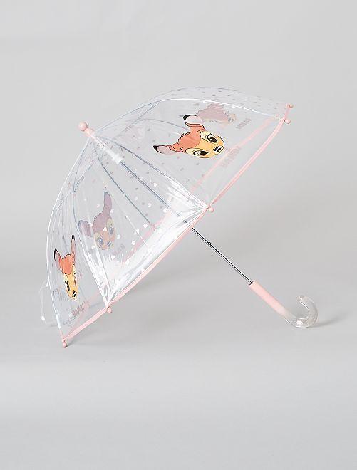 Parapluie transparent 'Bambi' de 'Disney'                             blanc