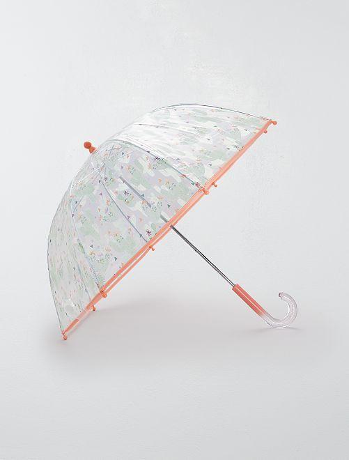 Parapluie transparent 'Cactus'                                                                 rose