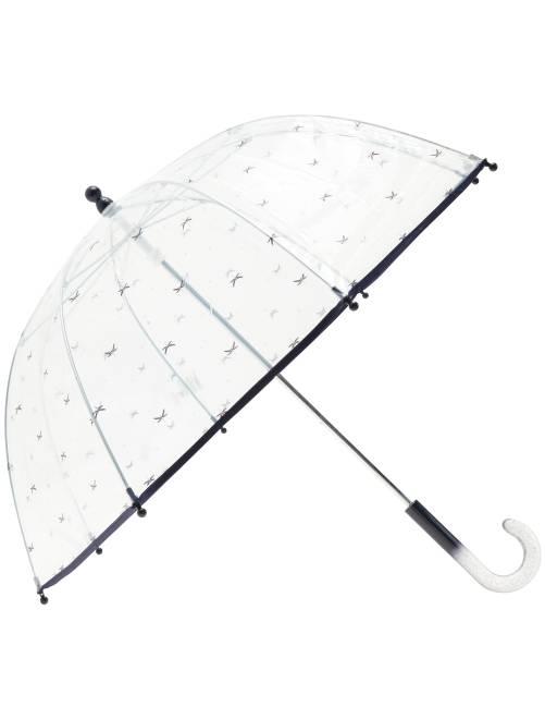 Parapluie transparent imprimé fantaisie                                                                 marine Fille