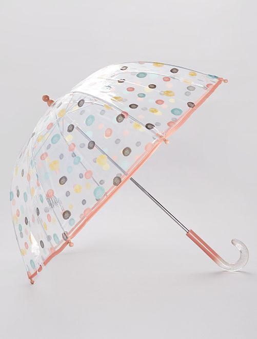 Parapluie transparent 'Licorne'                                                                             rose