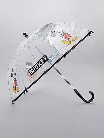 Parapluie transparent `Mickey`