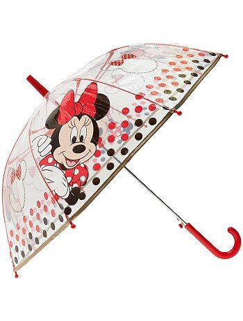 Fille 3-12 ans - Parapluie transparent 'Minnie' - Kiabi