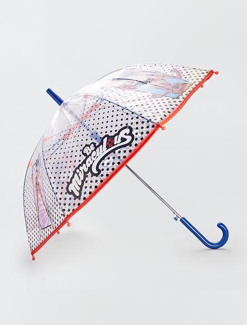 Parapluie transparent 'Miraculous'                             transparent