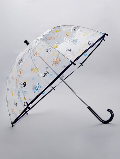 Parapluie transparent 'New York'                                                                 marine