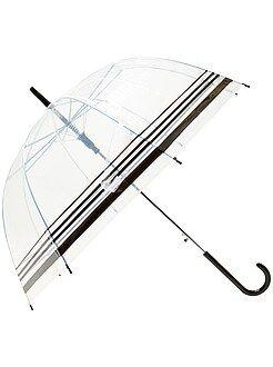 Femme du 34 au 48 Parapluie transparent