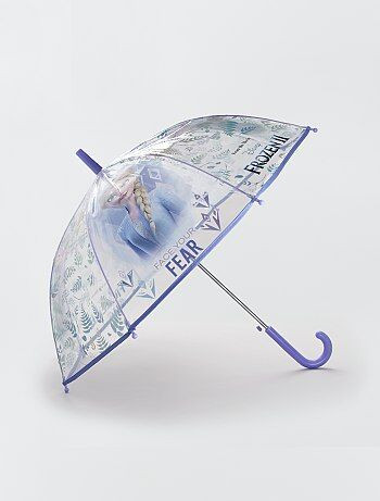 Parapluie transparent 'Reine des neiges' 'Disney'