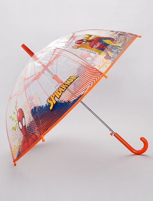 Parapluie transparent 'Spider-Man'                             orange
