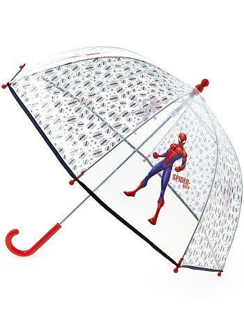 Parapluie transparent 'Spiderman' - Kiabi