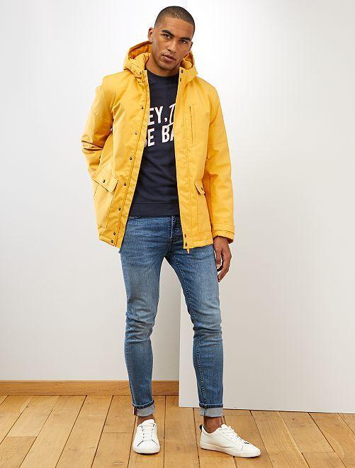 Parka courte                             jaune
