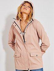 Manteau, veste Vêtements femme | rose | Kiabi