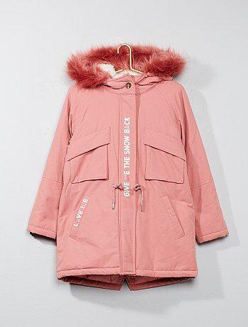 Manteau chaud 12 ans